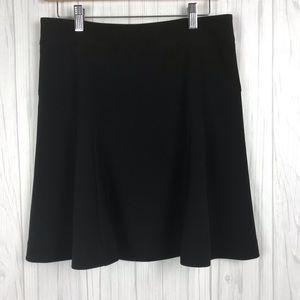 Express A Line Career Skirt Size 8 Black Lined